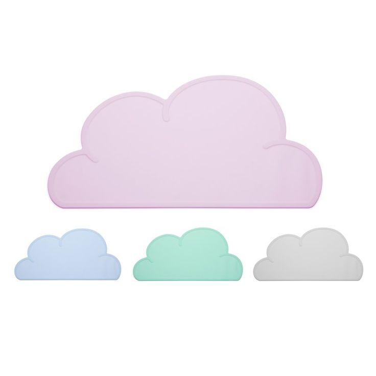 Kg design wolken tischset soft pink nice things for Tischset design