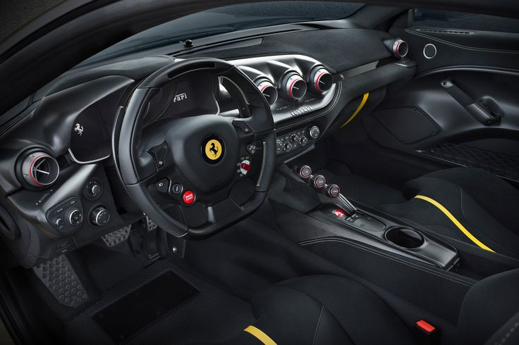 Ferrari F12 TDF 2016 - pictures | Ferrari F12 TDF - interior | Auto Express