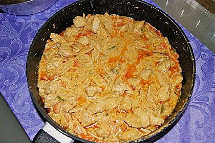 Thai-Curry Erdnuss Kokos Hühnchen