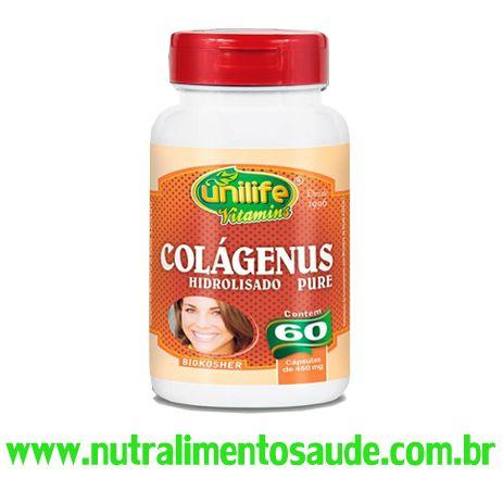Colágeno Hidrolisado 60 Capsula