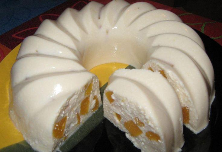 Вкусный и полезный рецепт творожного кекса с персиком! Вместо персика можно использовать любой любимый фрукт!...