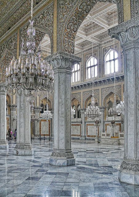 Chowmahalla Palace in Hyderabad, Telangana, India                                                                                                                                                      More                                                                                                                                                     More