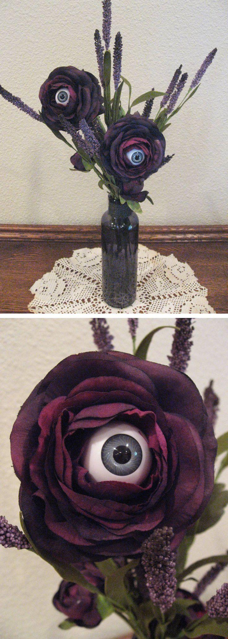 eyeball flower vase