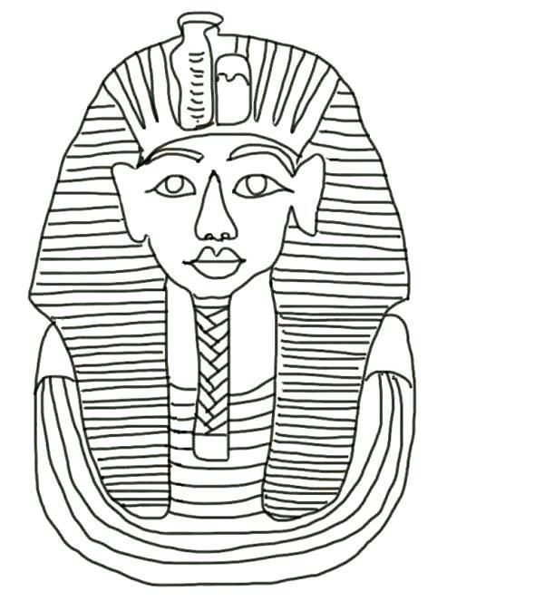 King Tut Coloring Page Free Cat Coloring Page Coloring Pages Ancient Egypt