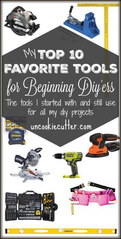 DIY Woodworking Ideas Beginner Tools - A Top Ten List of My Favorites