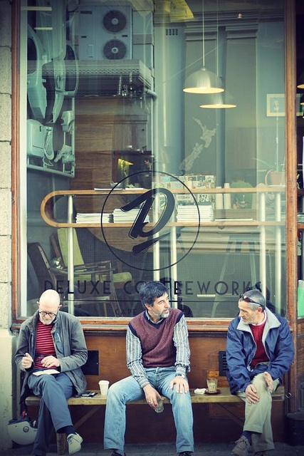 Deluxe Coffee Works - down the road