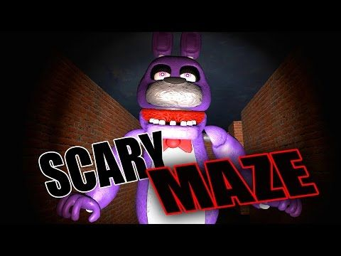 SCARIEST HORROR GAME EVER!! Gmod Five Nights At Freddy's Scary Maze (Garry's Mod) - YouTube