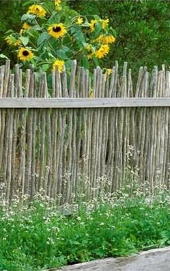 love this fence, but the deer would sail over it with ease.
