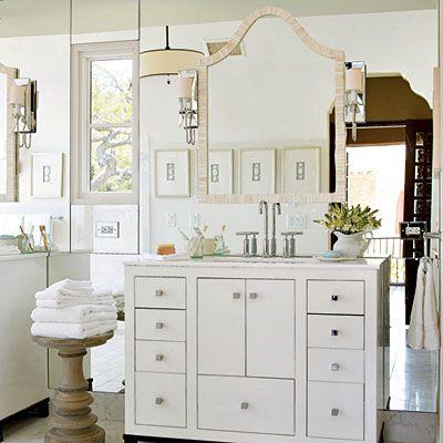 Master bath texas escondido idea house tour white for White house master bathroom