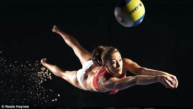 Bela imagem, mostrando um dos melhores fundamentos do volley.