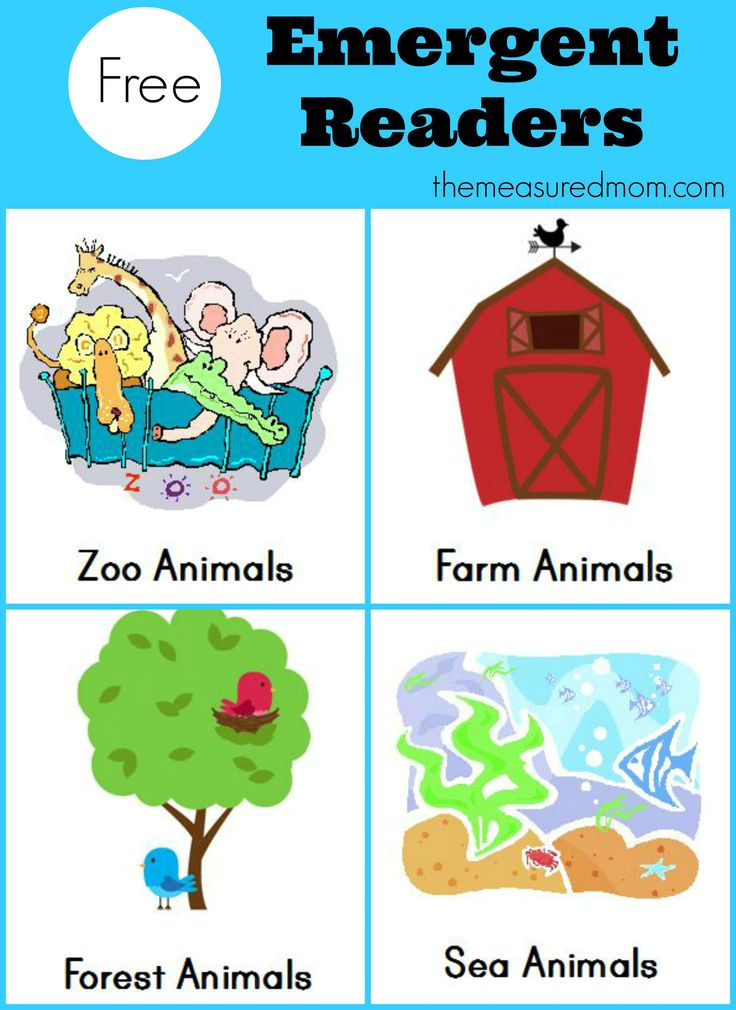 """Get this set of four free emergent reader books featuring the sight word """"a.""""  These sight word books are part of a big collection!"""