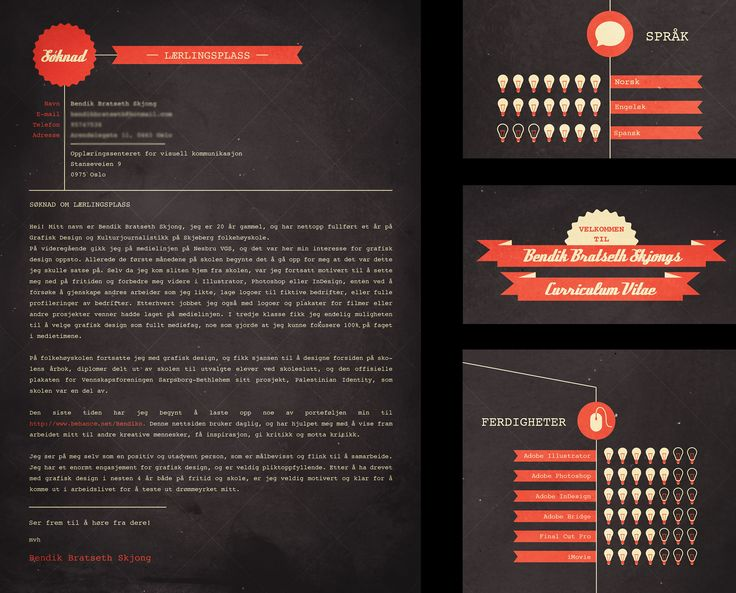 19 best design resume   cv images on Pinterest Design resume - graphic artist resume sample