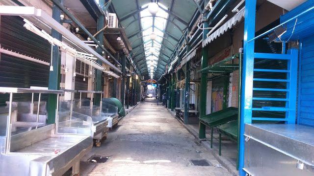 Haris Karagkounidis: Traditional market of Thessaloniki