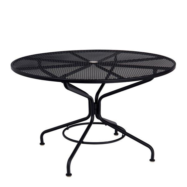 Just For You Mesh Top Dining Table By Woodard Furniture