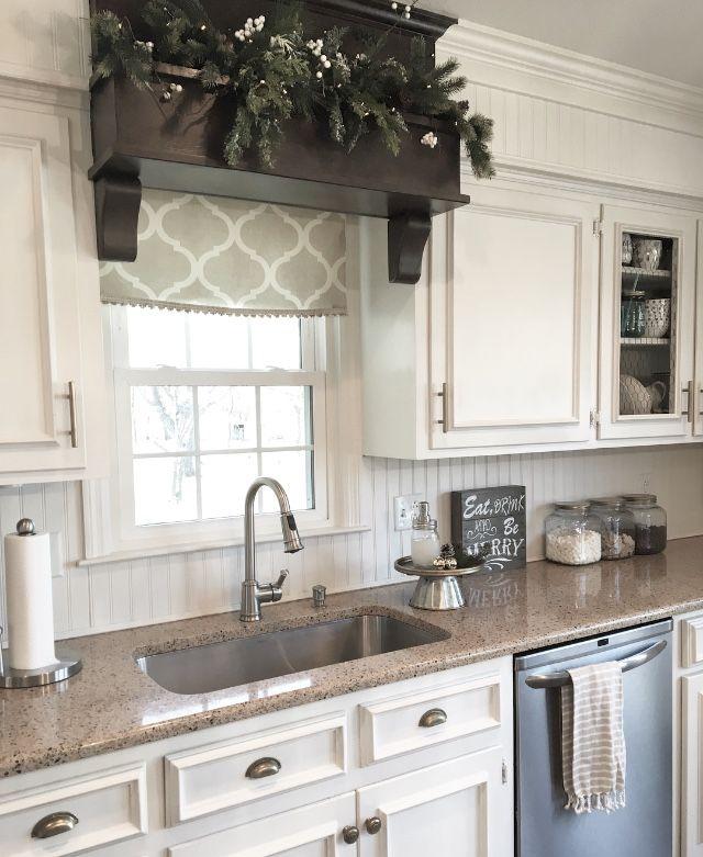 I Think I Need A Decorative Box Above My Kitchen Windows Kitchen Window Decor Home Decor Kitchen Kitchen Remodel
