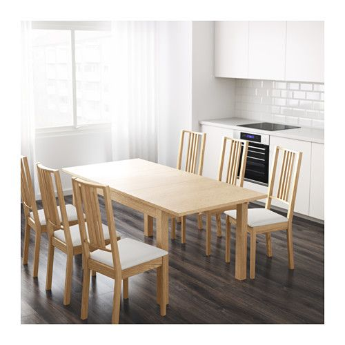 IKEA BJURSTA extendable table 2 extension leaves included.£150