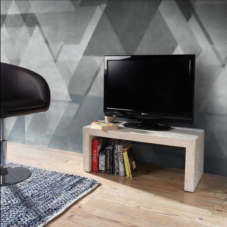 Panca porta TV Fossilstone