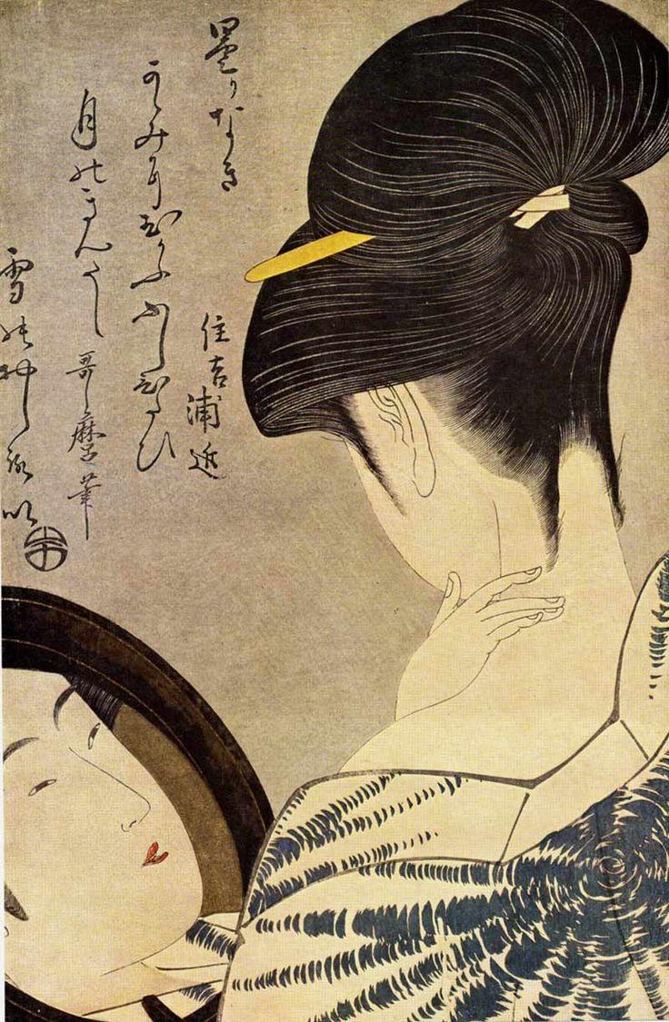 Estampes japonaises de Utamaro Kitagawa | Le Jardin des Délices