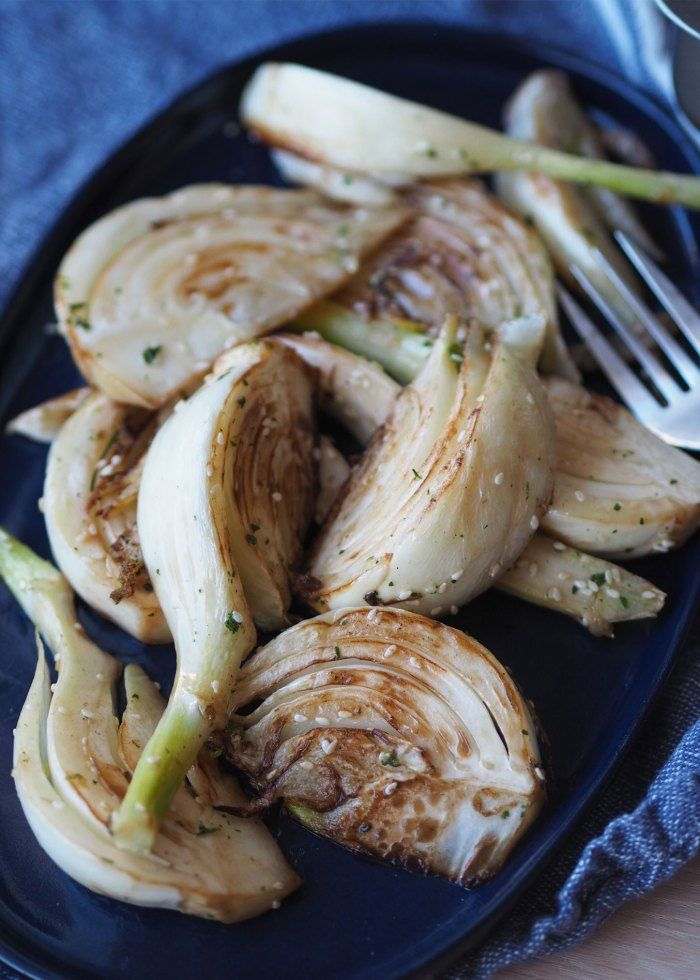 Sesamwoket fennikel - Sukkerfri Hverdag