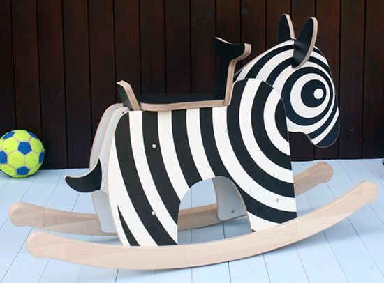 new modern wood toys and rockers for kids - see more at SmallforBig.com #wood #toys #kids