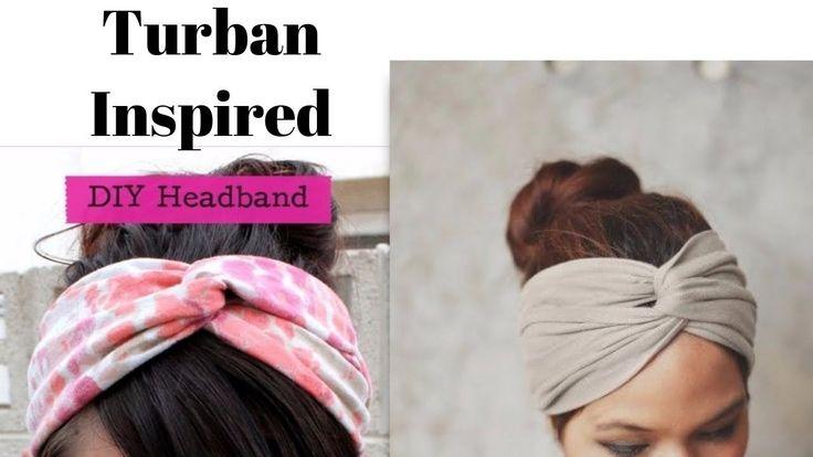 how to make a tshirt into a turban