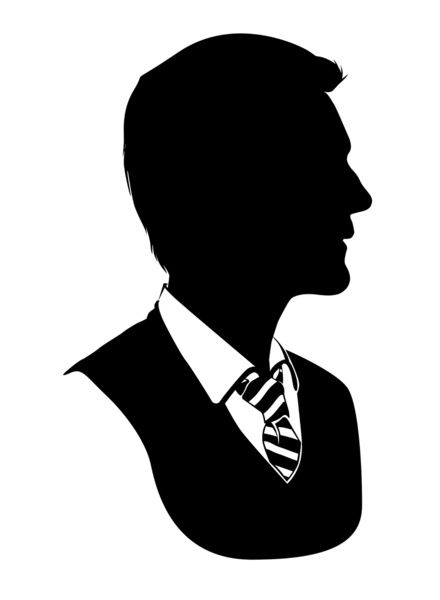 Neville - Standard Silhouette Art Print by GTRichardson | Society6
