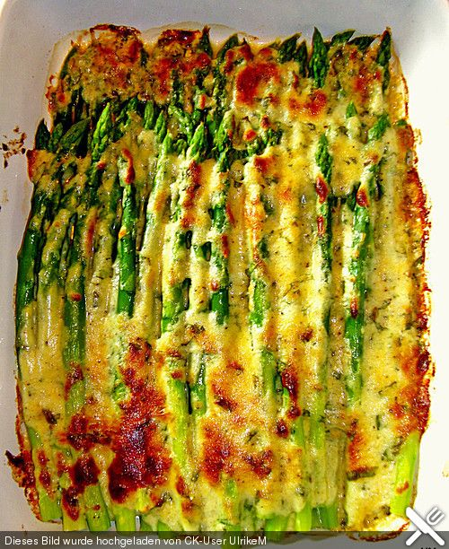 Albertos green asparagus with parmesan cream (recipe with picture) | Chefkoch.de