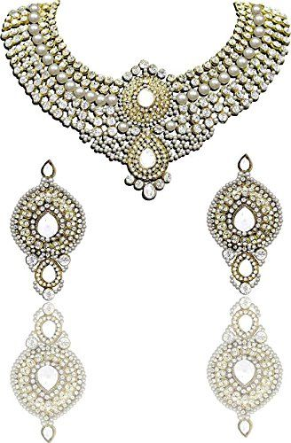 Ethnic Indian Bollywood Gold Plated White Pearls Stone We... https://www.amazon.ca/dp/B01N6QH59G/ref=cm_sw_r_pi_dp_x_F2ROybMQ7MQA3