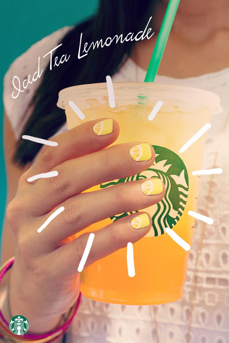 Add some tang to your Starbucks Teavana Iced Tea by asking for a splash of lemonade. Nothing beats this combination on a sunny summer day.