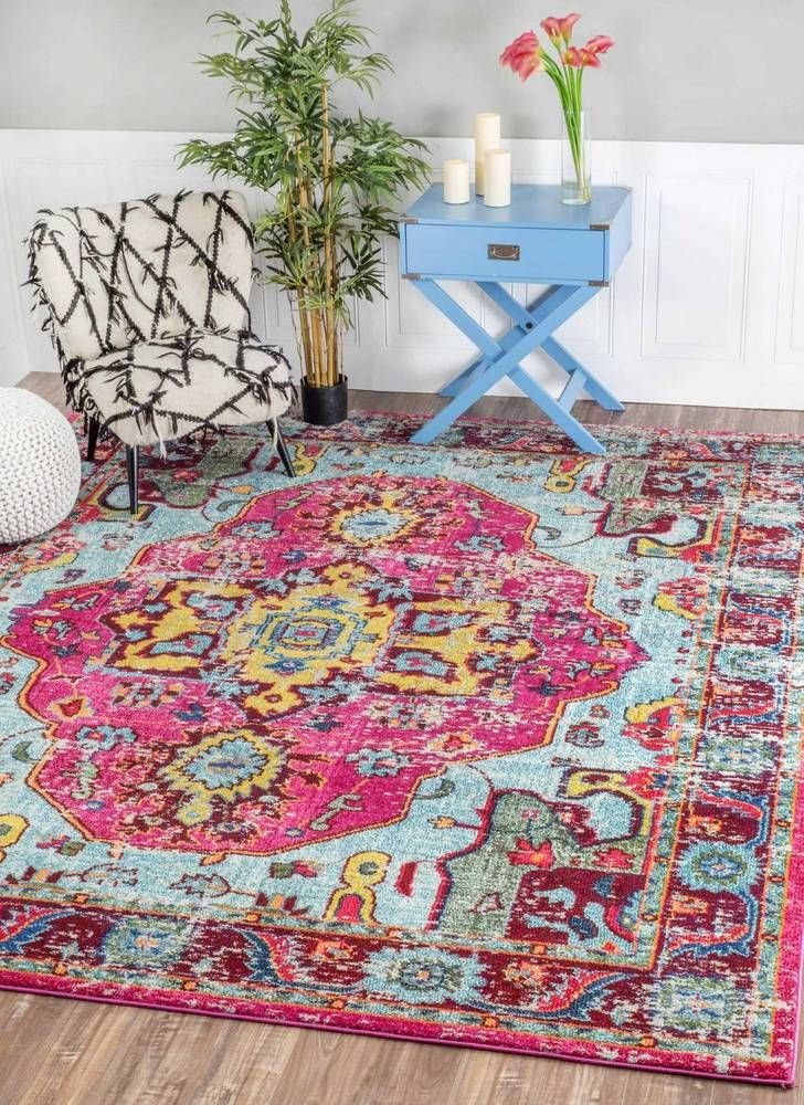 Bohemian D 233 Cor Bold Amp Colorful Rugs Decor Warm Home