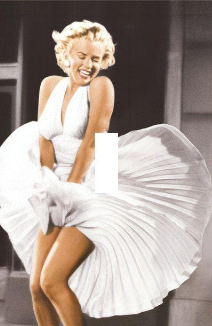 What Marilyn Monroe Makes Dress Blowing