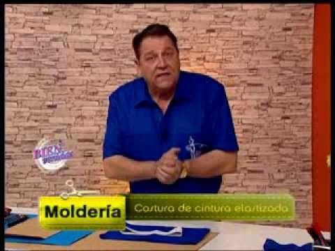 Hermenegildo Zampar - Bienvenidas TV - Explica la costura de cintura elastizada. - YouTube