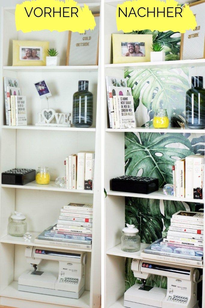Ikea Hack Regal Pimpen Billy Regal Pimpen Diy Interior Und Billy Regal Dekorieren