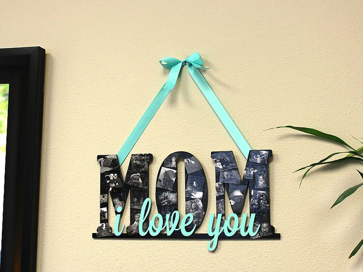 MOM Collage Sign | Mother's Day | CraftCuts.com