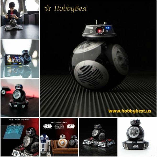 Star Wars RC Robot Toy Vehicle Authentic Movement Driving  There's a new disturbance in the Force. Star Wars RC Robot Toy Vehicle A.K.A BB-9E is a menacing Astromech Droid of the First Order. Control it with your smart device and keep it rollin...