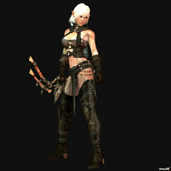 Character Design Forge : E lara from hunted a demon s forge i would cosplay as
