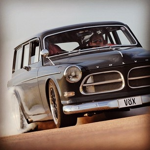 Volvo wagons have been cool rides for a long time!