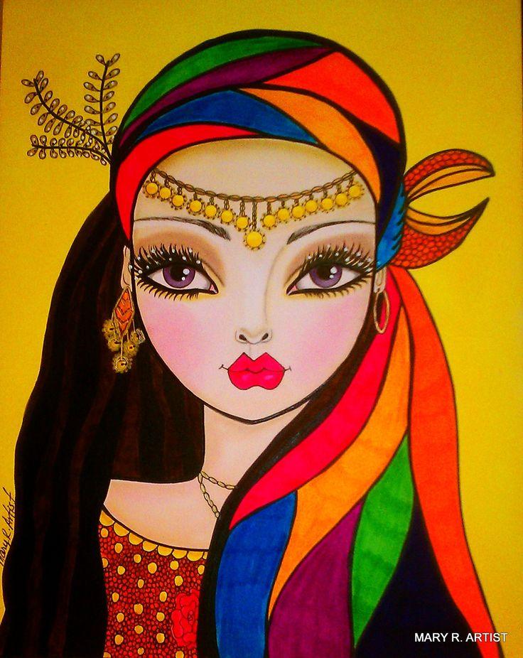 DesertRose,;,Artist Mary R. 06b80ad08a5eab3c3b3693abd924c423.jpg (1271×1600),;,