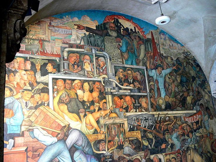 17 best images about diego rivera on pinterest blue for Diego rivera famous mural