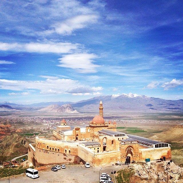 """Ishak Pasa Palace / Agri"" photo by Sezgin Yılmaz http://instagram.com/sezyilmaz #comeseeturkey"