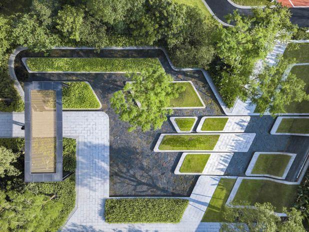 Iapa Courtyardgarden Courtyard Garden Public Courtyard Cour Landscape Architecture Plan Landscape Architecture Design Landscape Plans