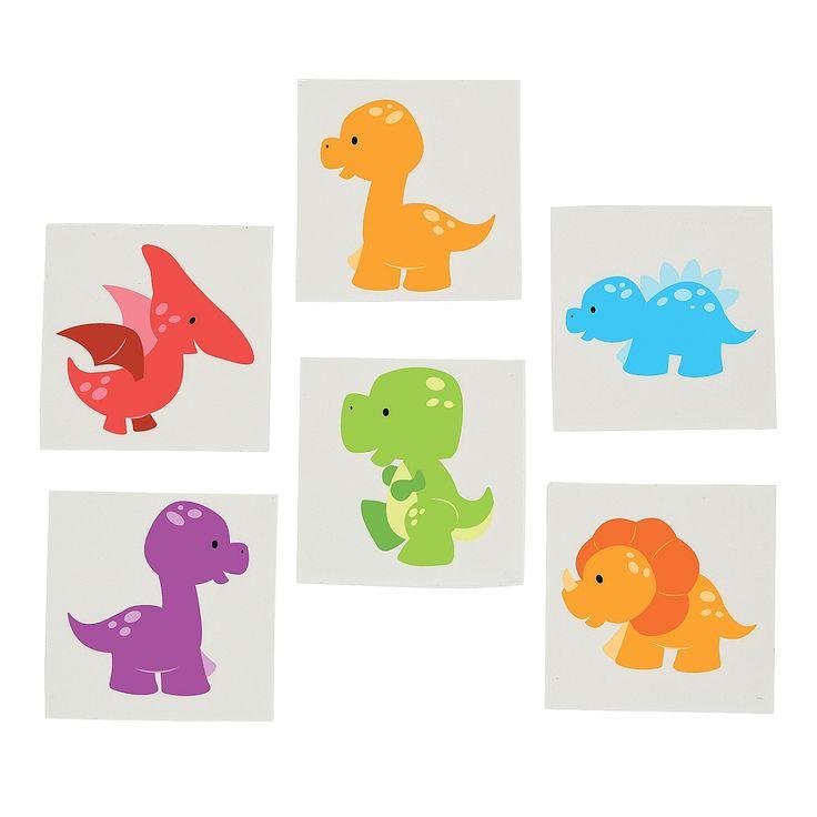 Little+Dino+Tattoos+-+OrientalTrading.com