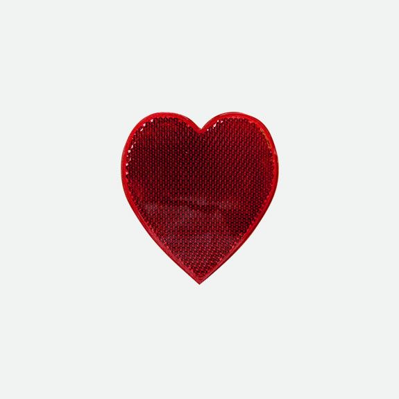 Bicycle: Charly - Heart Spoke Reflector – Red R99