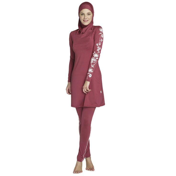 Everest 2016 Muslim Swimwear for Women's Conservative Swimsuit Islamic Ramadan Beachwear Bikini