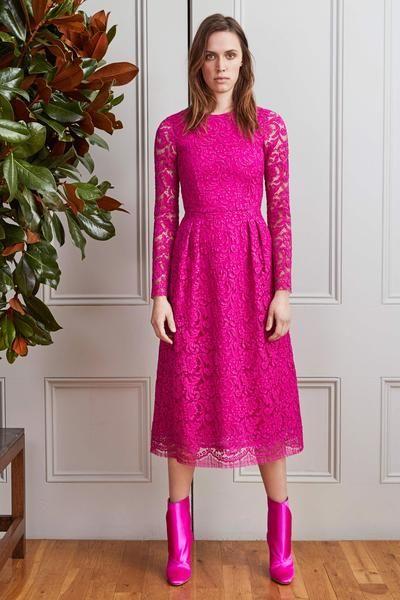 Modest Pink Dress