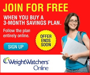 Join Weight Watchers for free when you buy a 3-month savings plan
