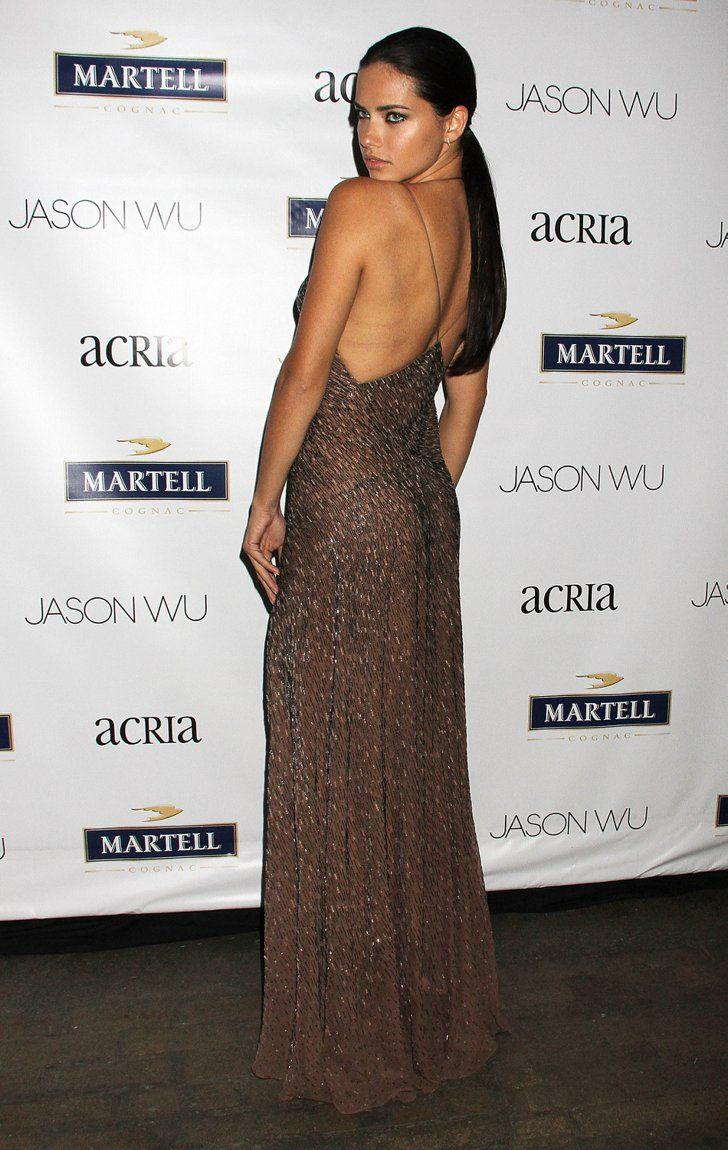 Pin for Later: Nobody Twinkled Like These Stars Last Night Adriana Lima Adriana Lima at the Young Friends of Acria Summer Soiree.