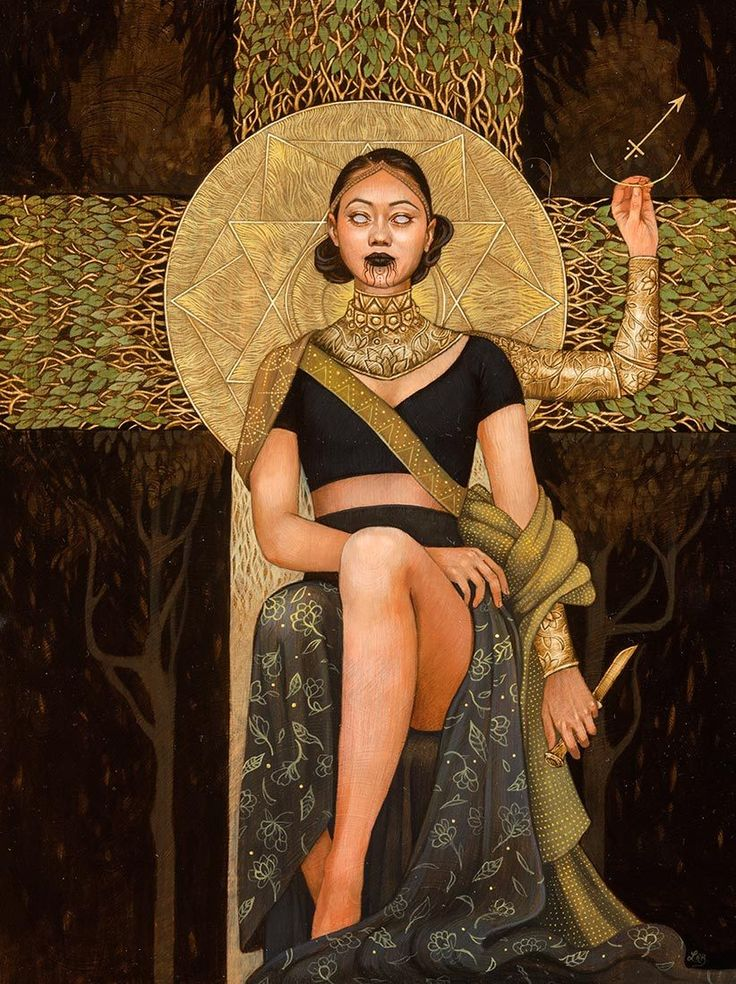 "Leilani Bustamante's ""Anima Mundi"" at Modern Eden Gallery.Opening September 9th, 2017 at Modern Eden Gallery in San Francisco, California is artist Leilani Bustamante's solo exhibition ""Anima..."