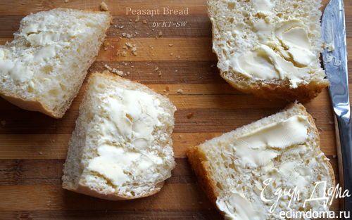 Крестьянский хлеб с хрустящей корочкой | Кулинарные рецепты от «Едим дома!»