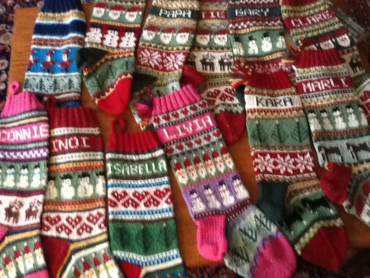 22 best Christmas images on Pinterest   Knitted christmas ...